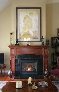 a new fireplace