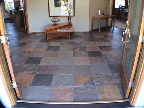 pictures of slate floors | our slate products : slate flooring
