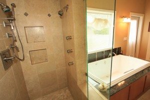 Davis Master Bathroom Shower